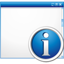 Window Info - icon gratuit #195751