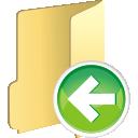 Folder Previous - Free icon #196111