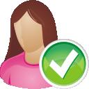 o usuário aceitar - Free icon #196221
