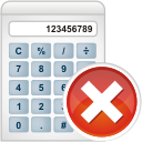 Calculator Remove - icon gratuit(e) #196241