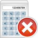 Calculator Remove - Free icon #196241