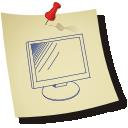 Computer Monitor - бесплатный icon #196351