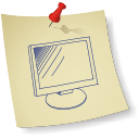 monitor de la computadora - icon #196351 gratis