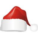Santa Hat - icon gratuit #197041