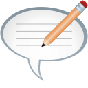 Comment Edit - Free icon #197701
