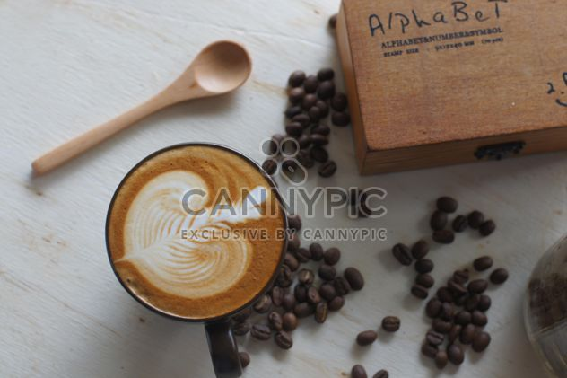 Coffee latte art - Free image #197851