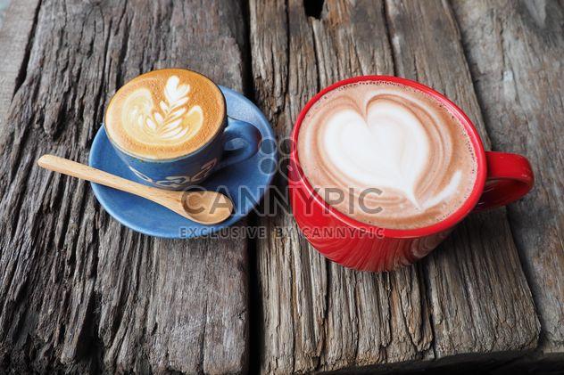 Café latte art - Free image #197881