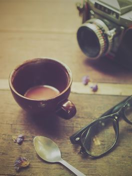 Coffee in vintage color - image gratuit #197931