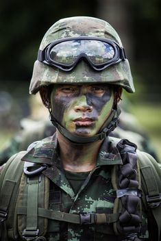 Thai soldier portrait - бесплатный image #198031