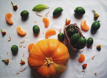 Autumn harvest, Vegetables and fruits - Kostenloses image #198741