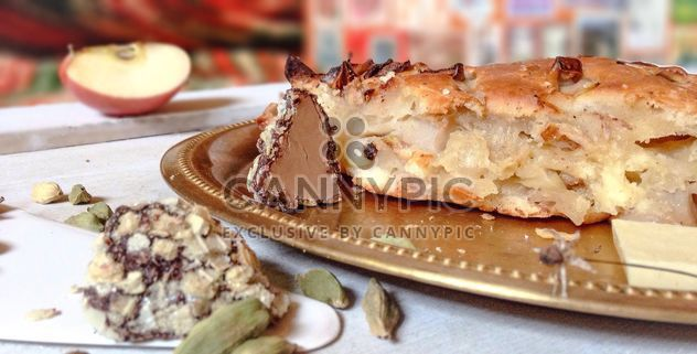 saborosa torta de close-up - Free image #198921