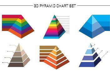 Pyramid Chart 2 - vector gratuit #199111