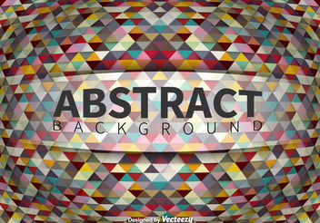 Geometric abstract background - vector gratuit #199151