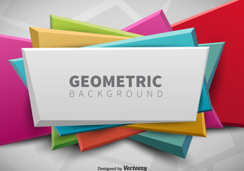 Geometric Banner - Free vector #199221