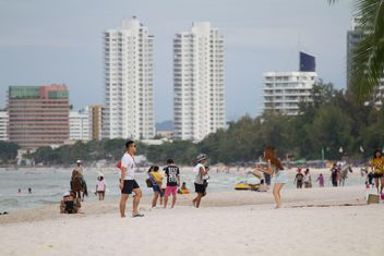 Hua Hin beach Thailand - бесплатный image #200171