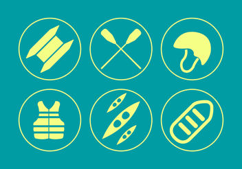 Catamaran Icons - vector #200211 gratis