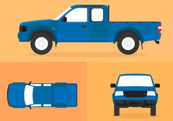 Ford Ranger - vector gratuit #200461