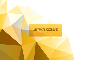 Colorful triangle geometric background - vector #200631 gratis