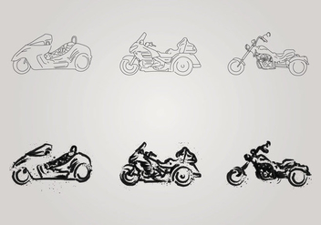 Free Motor Trike Vector Illustration - бесплатный vector #200831