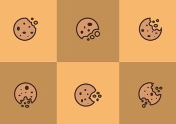 Free Bitten Cookies Vectors - Free vector #200881