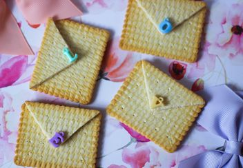 Cookies With A colorful Bows - image gratuit(e) #201021