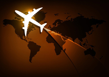 Vector travel background - Kostenloses vector #201371