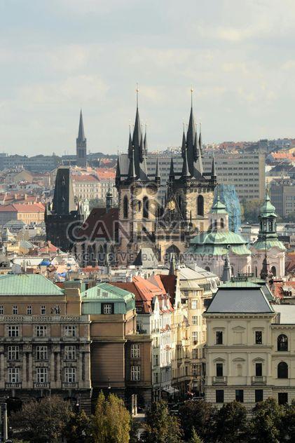 Blick auf die Teynkirche in Prag - Kostenloses image #201481