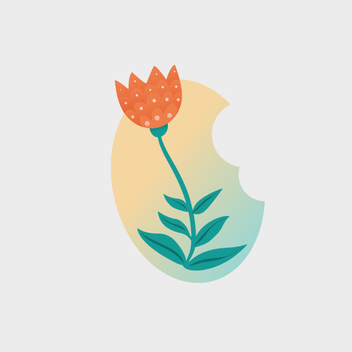 Easter Tulip Vector Flower - бесплатный vector #202001