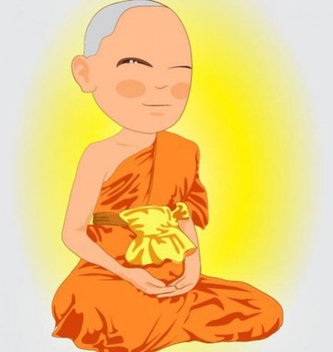Free Thai Monk Vector - бесплатный vector #202231