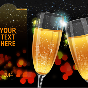 New Years Vector - vector #202401 gratis