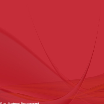Red Abstract Background Vector - vector #202411 gratis