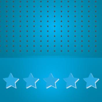 Blue Stars Vector - Free vector #202471