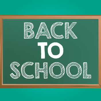 Free Back To School Chalkboard Vector - Free vector #202501