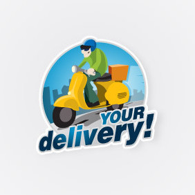 Delivery Logo - Free vector #203041