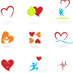 Hearts -Vector - Free vector #203401