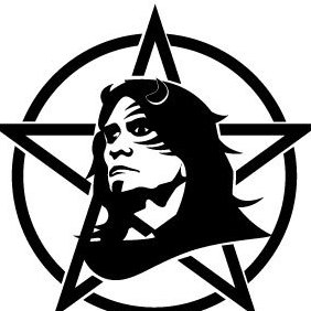 Anarchist Face And Sign Vector - Free vector #203431