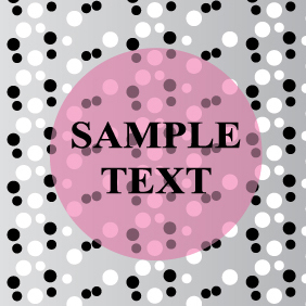 Card With Small And Big Circles - Kostenloses vector #203491