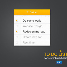 To Do List - vector gratuit #203731