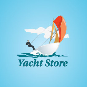 Yacht Store Logo - Free vector #203751