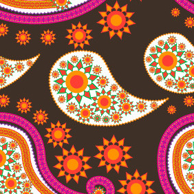 Seamless Pattern 202 - бесплатный vector #203971