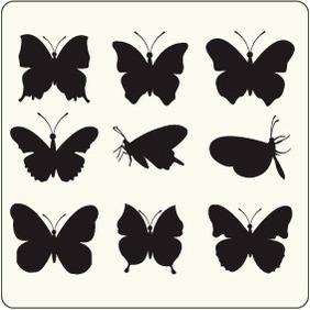 Http:www.allfreevectors.comButterflies-13-17474.html - vector #204491 gratis