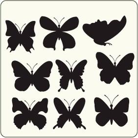 Butterflies 10 - vector #204591 gratis