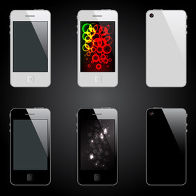 Vector IPhone - vector #204781 gratis