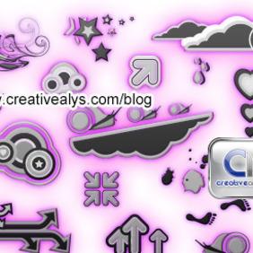 Creative Logo Design Symbols - Free vector #204851