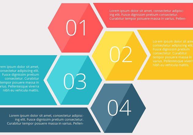 Numéro de l'infographie illustration vectorielle de diagramme - vector gratuit #205101