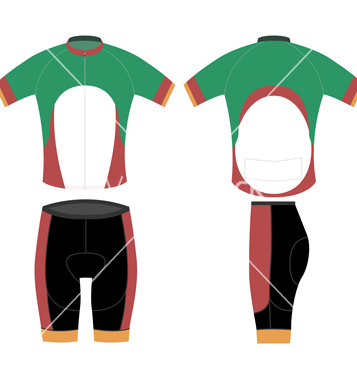 Free bike sport shirt design vector - Free vector #205281
