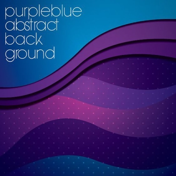 Purple Blue Background - vector #205311 gratis