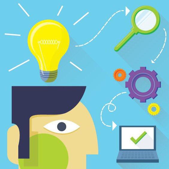 Entwickeln Sie Ihre Idee - Kostenloses vector #205681