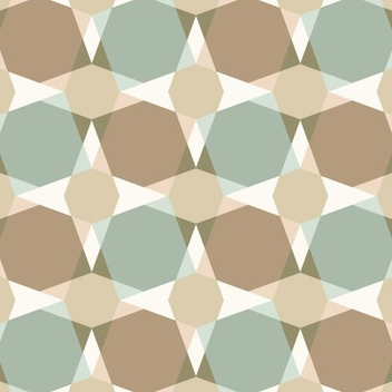 Square Seamless Pattern - vector #205791 gratis