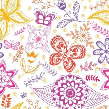 Summer Pattern - vector #205841 gratis